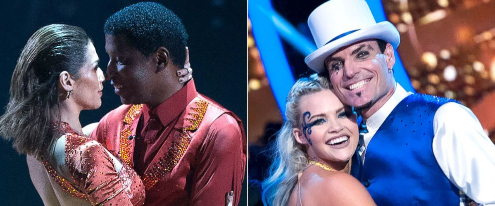"PHOTO: Kenny ""Babyface"" Edmonds and Vanilla Ice compete on the season 23 of ABCs ""Dancing With the Stars."""