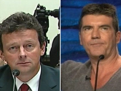 VIDEO: Simon Cowell criticizes Tony Hayward on Capitol Hill.