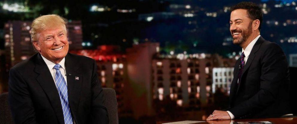 "PHOTO: Donald Trump on ""Jimmy Kimmel Live!"" on May 25, 2016."