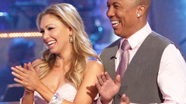 """PHOTO: Kym Johnson and Hines Ward compete in """"Dancing With The Stars"""", April 26."""