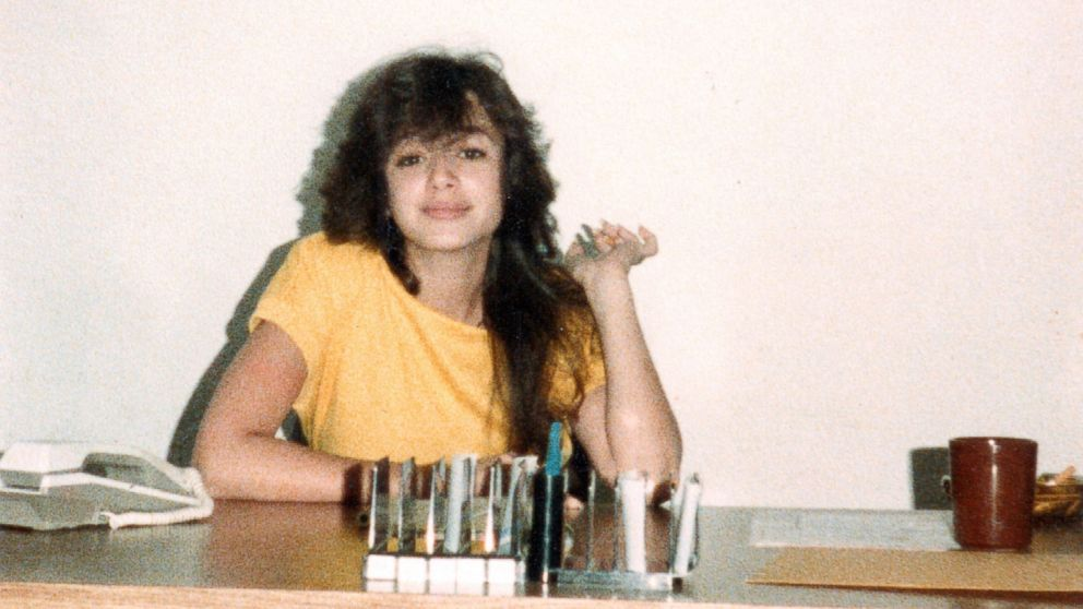 A young Leah Remini is seen here in this undated photo.