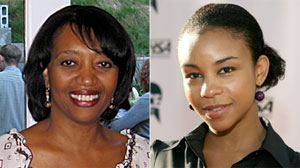Lesley Herring, left, sister of actress Aasha Davis, has been missing since Feb. 8.