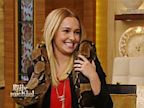 PHOTO: Hayden Panitierre is seen wearing her diamond ring on Michael and Kelly on Oct. 9, 2013.