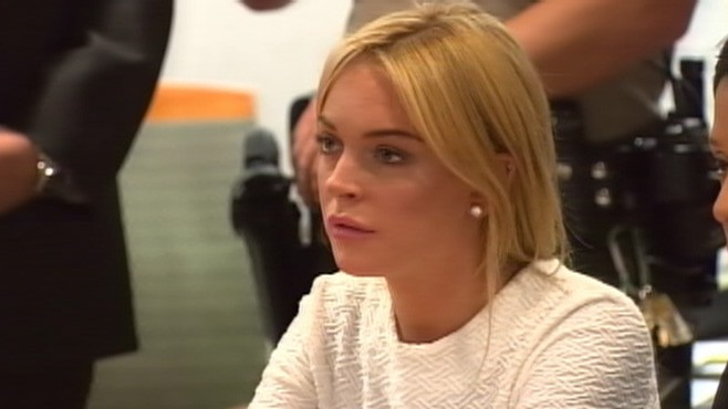 "VIDEO: Judge tells Lohan, ""Dont push your luck,"" after releasing her on 40,000 bail."