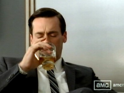 Video: Mad Men tackles alcoholism.