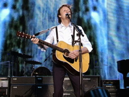 Video: Paul McCartneys New York concert.