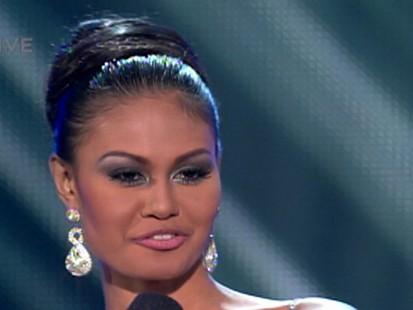 VIDEO: Miss Philippines, Venus Raj, says she has never made a major, major mistake.