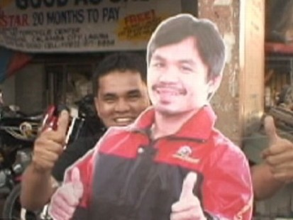VIDEO: People in the Philippines Go Crazy for Manny Pacquiao