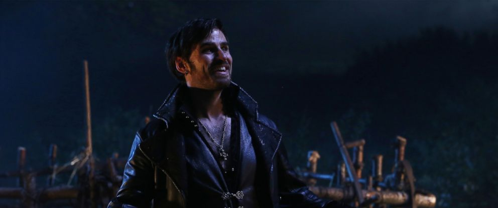 hook off of once upon a time Now that he is freed, a fully formed portal opened up in the clocktower, which everyone could then use to travel back to storybrooke in addition to that, hades also removed everyone's names off the headstones there's just absolutely no way hook's story is over on once upon a time image: tumblr.