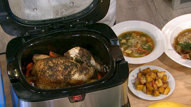 PHOTO: Emeril's chicken in the pot recipe is shown here.