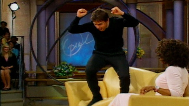 Awe Inspiring Tom Cruise Couch Jumping For Katie Holmes Ocoug Best Dining Table And Chair Ideas Images Ocougorg