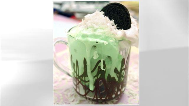 PHOTO: Lauren Torrisi's coconut mint Oreo sundae is shown here.