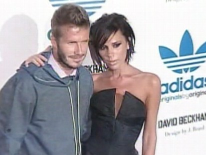 Video: Becks and Posh are one of Hollywoods top celeb couples.