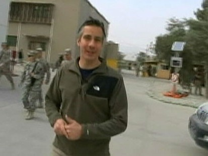 VIDEO: ABCs Jim Sciutto gets a taste of daily life on the army base in Afghanistan.