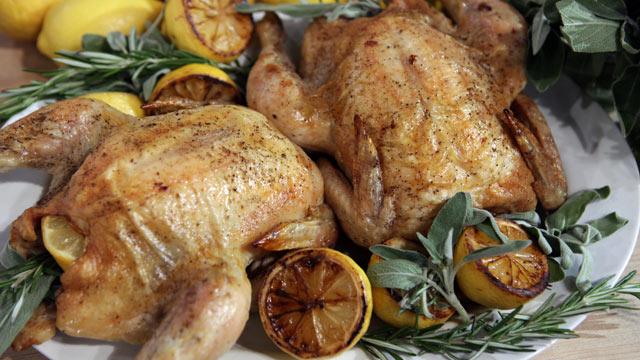 PHOTO: Fabio Viviani's Roasted Chicken