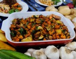 PHOTO: Stanley Tuccis roasted vegetable recipe is shown here.