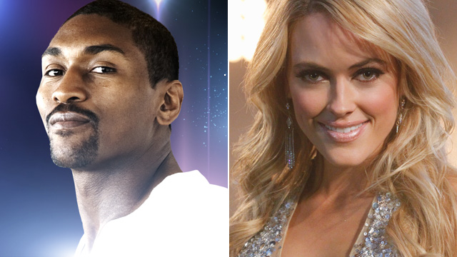 PHOTO: Ron Artest, Peta Murgatroyd