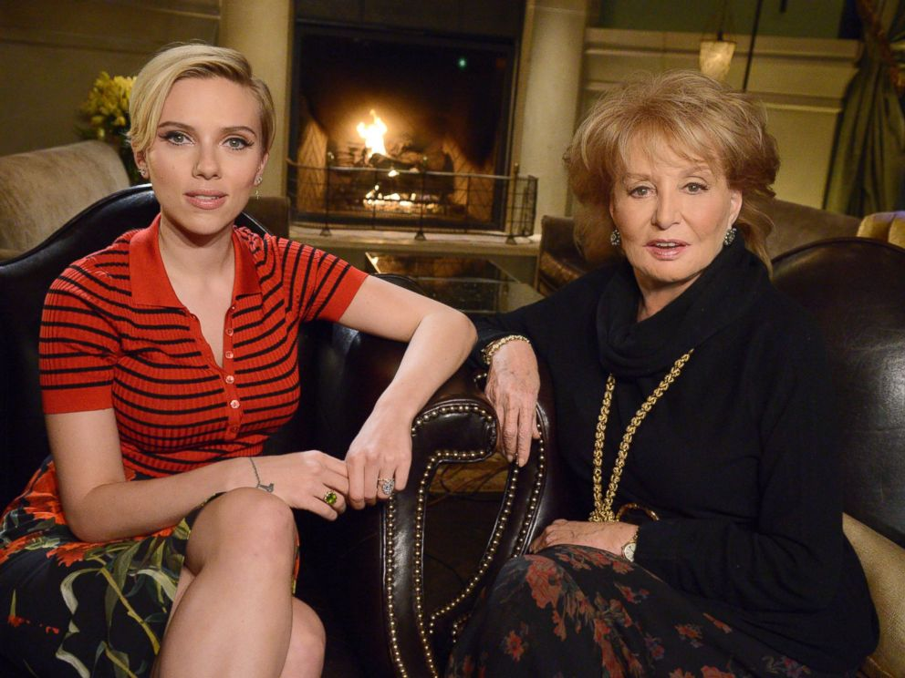 Scarlett Johansson On Being A New Mom It S Wonderful And Exhausting Abc News