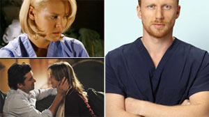 """PHOTO Surprises await viewers of ABCs """"Greys Anatomy"""" before the season ends."""