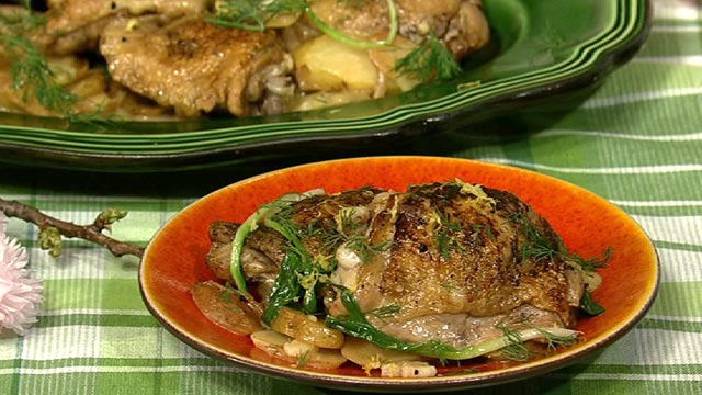 PHOTO: Michael Symon's spring chicken is shown here.