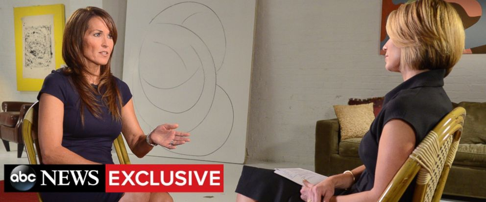 "PHOTO: Robin Williams widow, Susan Williams, sits down for an exclusive interview with ABC News Amy Robach to air on ""Good Morning America"" on Tuesday, November 3."