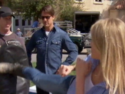 Video: Tom Cruise and Cameron Diaz stunt rehearsal.
