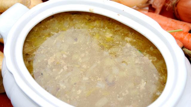 PHOTO: Sandra Lee's turkey soup is shown here.