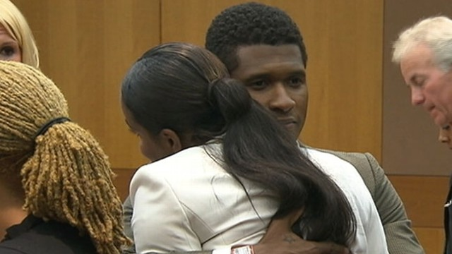 Usher Retains Custody of Kids After Emergency Hearing, Pool Accident