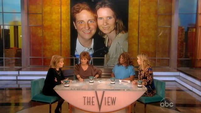 VIDEO The co-hosts discuss declaration by actress that she chooses to be gay
