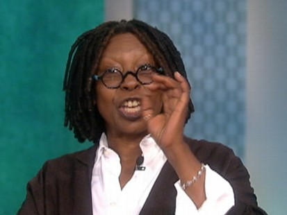 Video: Whoopi ask her co-host to go without makeup.