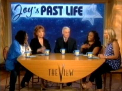 Video: Joy Behar visits her past lives.