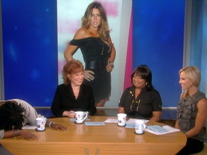 Video: Whoopi Goldberg loses it over Rachel Uchitel.
