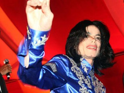 VIDEO: Michael Jackson announces concert dates in London.