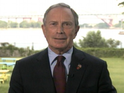 VIDEO: Michael Bloomberg stars in campaign asking LeBron James to play for the Knicks.