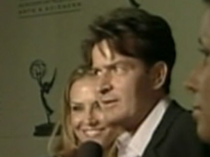 Video: Actor Charlie Sheen hospitalized in New York City.