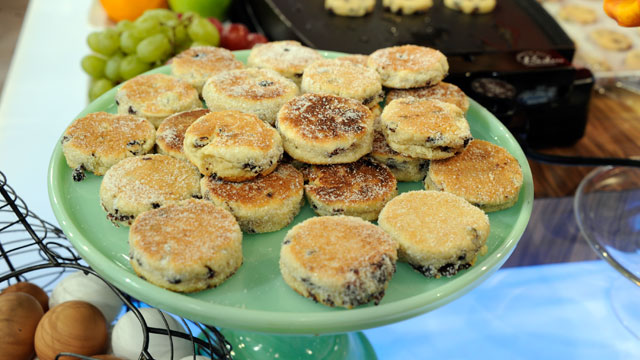 PHOTO: Ann Romney's welsh cakes recipe is shown here.