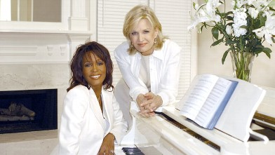 PHOTO: Whitney Houston sits down for an interview with ABC News' Diane Sawyer, in her Atlanta, Ga. home, Nov. 7, 2002.
