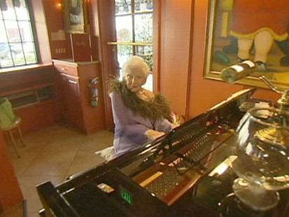 Music Keeps 101-Year-Old Woman Healthy