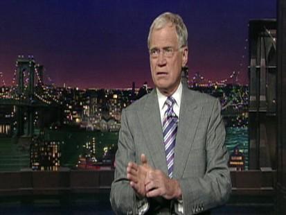 Palin Letterman feud heats up.