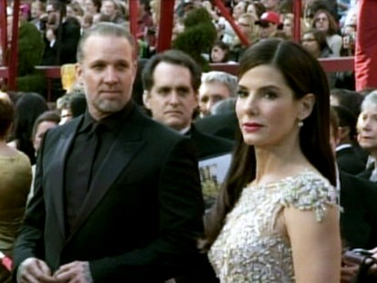 VIDEO: Sandra Bullock hasnt responded to reports that her husband Jesse James had an affair with a model.