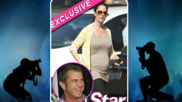 VIDEO: Actor's ex-girlfriend, reality TV star Laura Bellizzi, is pregnant.