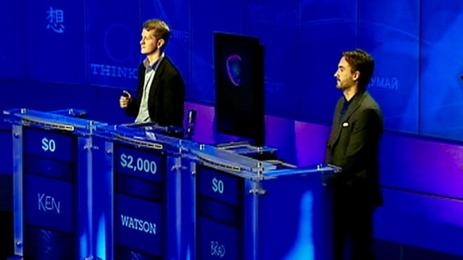 video game show champs ken jennings and brad rutter face off against an ibm