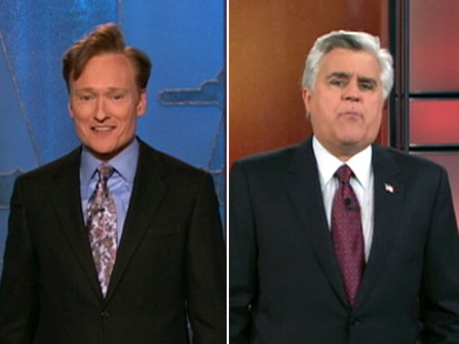 VIDEO: Conan OBrien and Jay Leno continue to joke about the late night shuffle on NBC.