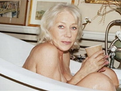 VIDEO: Helen Mirren goes topless for magazine photo shoot.