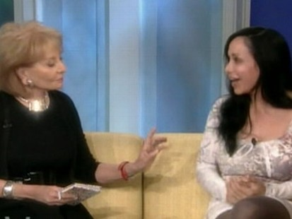 VIDEO: Nadya Suleman breaks out high-pitched laughter while on The View.