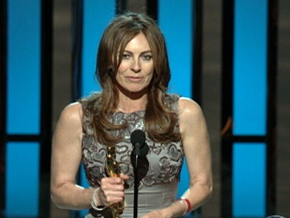 VIDEO: Kathryn Bigelows Hurt Locker wins big at the Academy Awards.