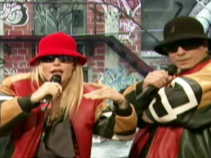 VIDEO: Gwyneth Paltrow raps alongside Jimmy Fallon for their mock band Shazzazz.