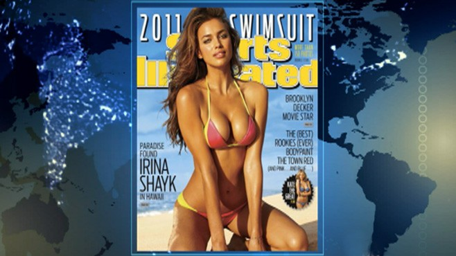 VIDEO: Sports Illustrated unveils 25-year-oldIrina Shayk as this years swimsuit model.