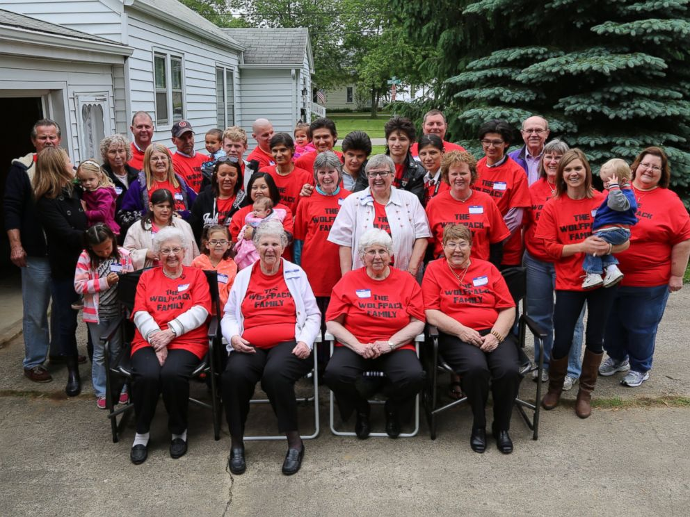PHOTO: In May, ABC News 20/20 brought Susanne and her seven children to Three Oaks, Michigan, for a family reunion.