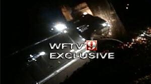 Tiger Woods Accident Scene